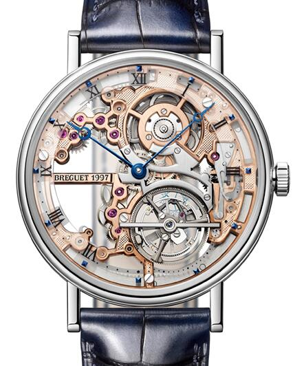 Breguet Classique Complications Tourbillon 5395PT/RS/9WU Replica Watch